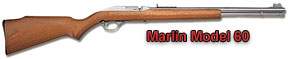 Marlin Model 60, 60C, 60DL, 60S-CF, 60SB, 60SS, 60SSK, 60SSBL, 600, .22 caliber, rifle