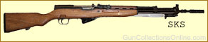 SKS, Russian, Chinese, Korean, German, Albanian, Romanian, Polish, 7.62x39 caliber, rifle